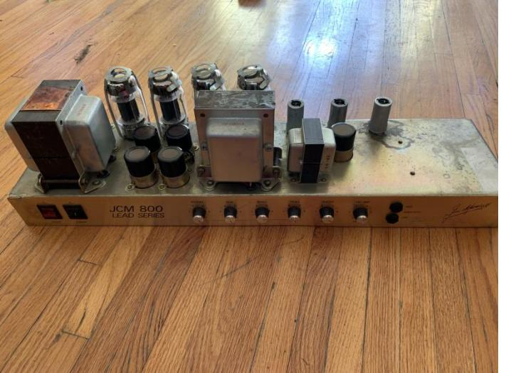 1982 Marshall 800 100w Head — Recapped using These JJ's Capacitors   Thanks  Beardo