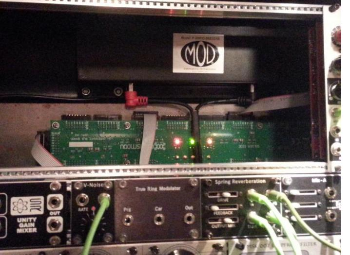MOD tank installed in my Eurorack system.