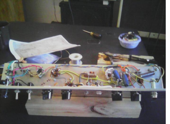 this is one of about twenty parts needed to restore a 1965 El Basso amp including pots, caps, resistors amd a power transformer all from Antique Electronic Supply
