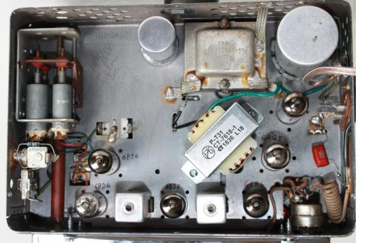 New transformer in Motorola 397