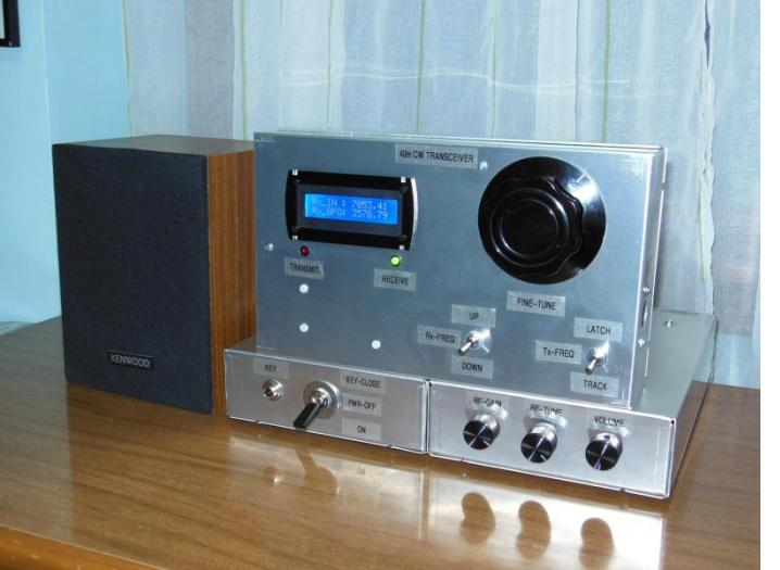 Ham Radio Transceiver for 40 meters