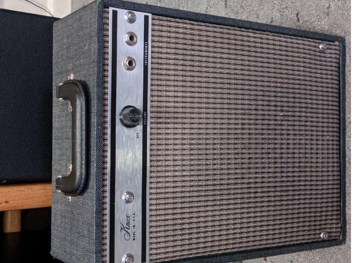 Restored knox amp