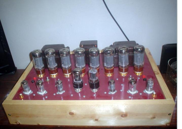8-6L6 Stereo Amplifier