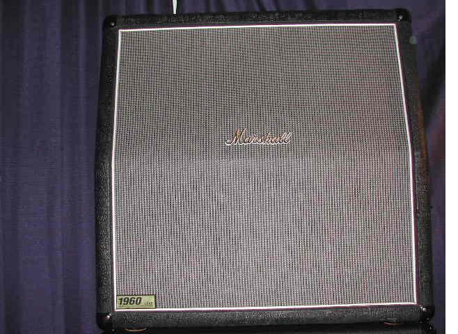 Marshall 1960 with Bluesbreaker Grill Cloth