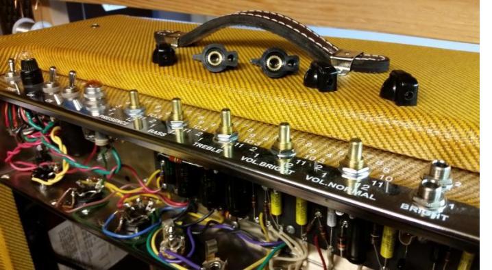 '59 5E5-A Pro-Amp CTS Controls
