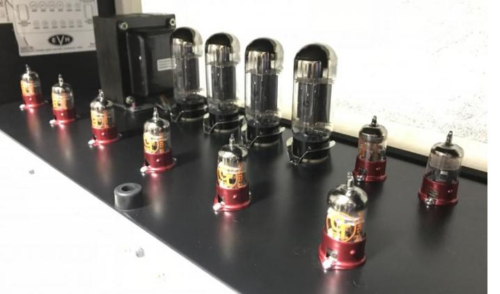 Groove Tubes 12AX7 C preamp tubes I recently purchased from you in my EVH 5150iii 100 watt head