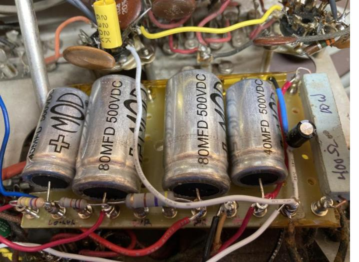 Knight KG-250 power supply rebuild.