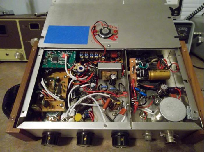 JJ 12AX7 PREAMP UNDER CHASSIS