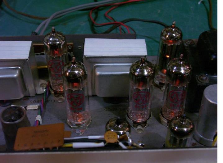 KN-928 restored stereo amp