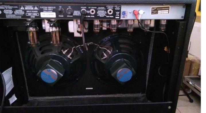 TUNSOL 6L6 STR on Fender Custo Vibrolux Rveerb