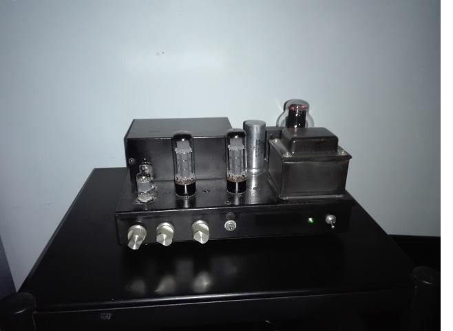 High End SE amp with EL34 - Mullard Reissue
