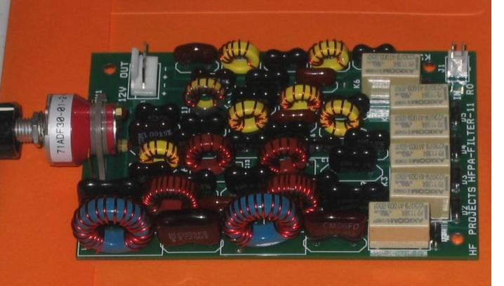 Low Pass Filter Module using Dip Silver Mica Capacitors