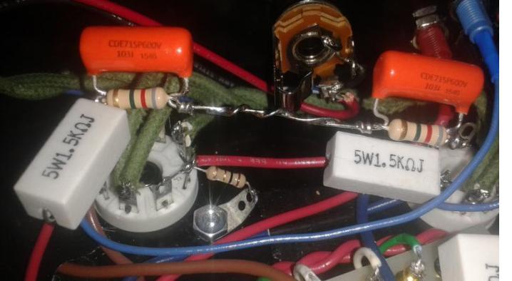 Added a K-SNUB2 kit to my MOD 101 amp.