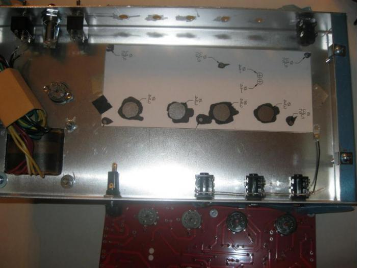 I always use cliff jacks when building an amp. early pic of 18 watt being built.