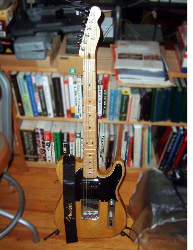 Fender Telecaster and Strap