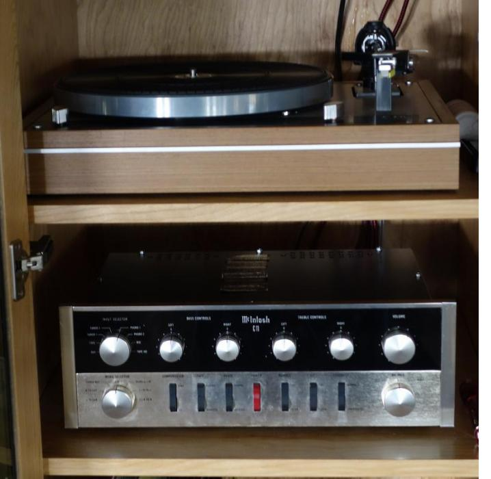 A 51 year old C11 sounds as beautiful as ever with new AES tubes