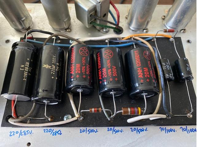 Mighty Twin Power Capacitor Replacement