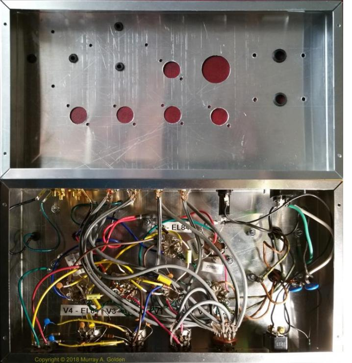 MAGnetics Amplifier - Before & After Wiring