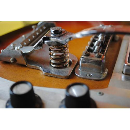 """Customer image:<br/>""""Handy replacement for my Teisco K2L&amp;#039;s missing spring. Slightly larger than stock so it won&amp;#039;t fit in the metal bucket but with that removed and a stack of nickels in the hole, it&amp;#039;s just the right height."""""""
