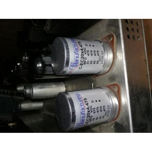 """Customer image:<br/>""""Installed on my Bogen AP30 amp."""""""