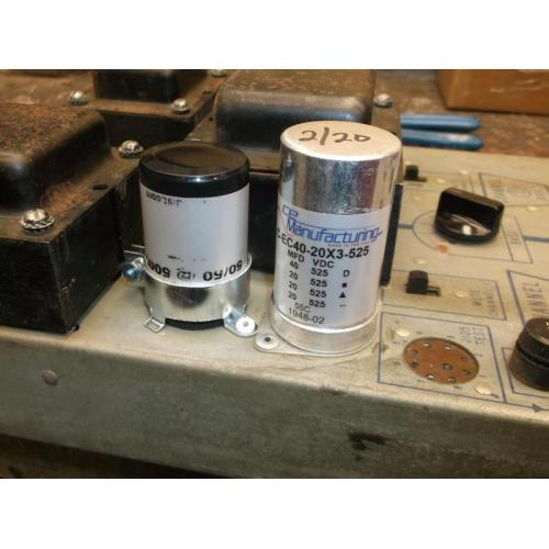 "Customer image:<br/>""Seeburg model Q Jukebox Amplifier """