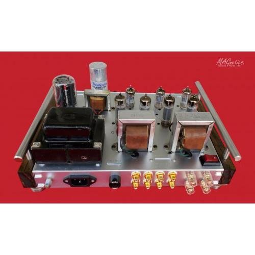 "Customer image:<br/>""MAGnetics Amplifier (rear view)"""
