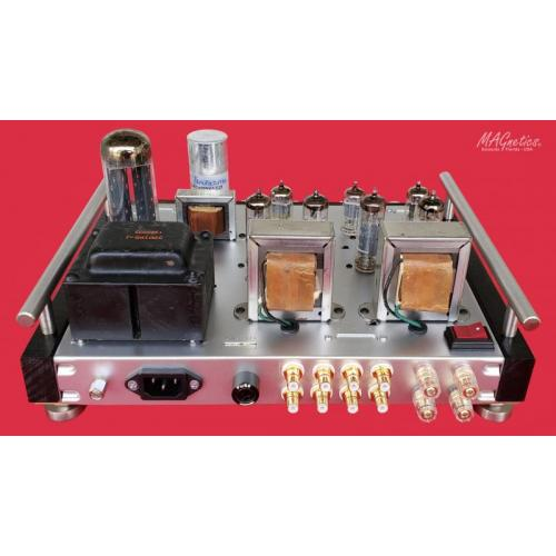 """Customer image:<br/>""""MAGnetics Amplifier (rear view)"""""""