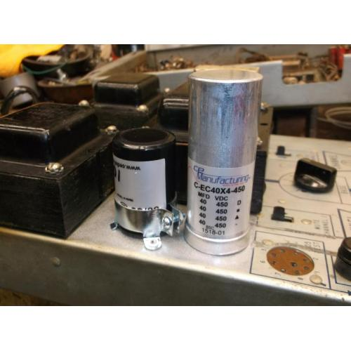 "Customer image:<br/>""Seeburg 222 Amplifier"""
