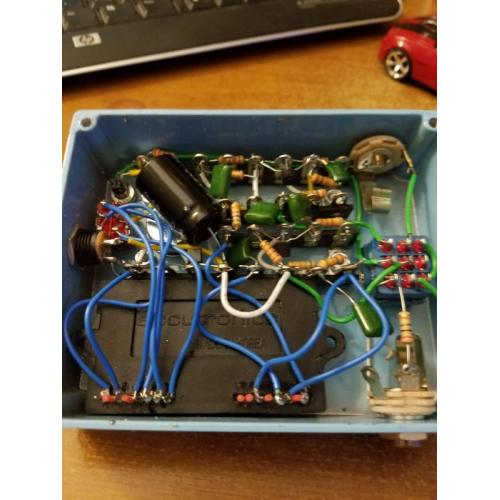 "Customer image:<br/>""This is my build of the ModKitsDYI Suspended Chime Pedal """