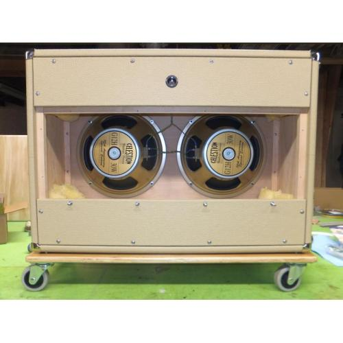 "Customer image:<br/>""2x12 cab, open or closed back"""