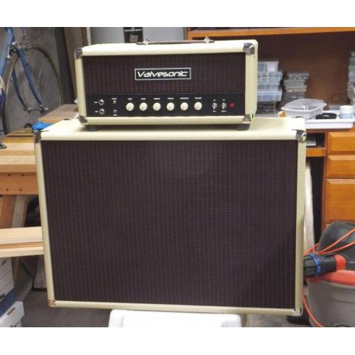 "Customer image:<br/>""Here&#039;s the amp and cabinet"""