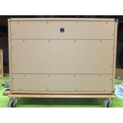 "Customer image:<br/>""same cabinet, with closed back"""