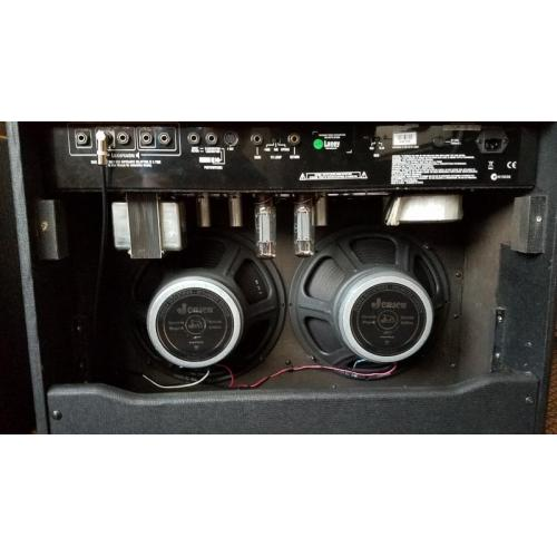 "Customer image:<br/>""Installed two Jensen Jet Electric Lightning in my Laney IRT 60-212. Great speakers for metal."""