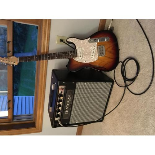"Customer image:<br/>""My guitar amp"""