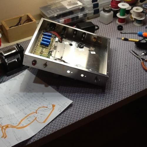 "Customer image:<br/>""Tube Amp Build"""