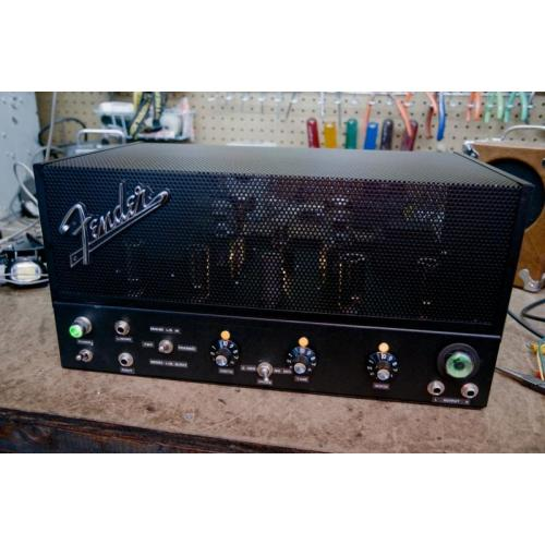 """Customer image:<br/>""""Dual spring reverb unit to generate stereo. Highlighting the beautiful Hammond chassis combo."""""""