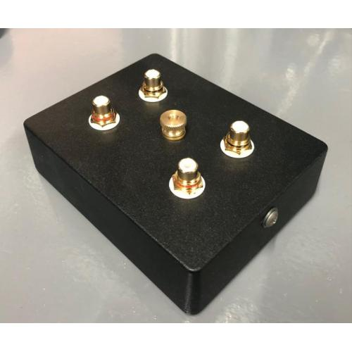 "Customer image:<br/>""Hammond 1590BB use to assemble a  SUT for LOMC Phono cartridge """