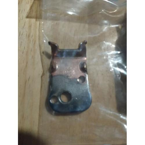 """Customer image:<br/>""""Ampeg B15S latch mounting plate - this one does not have the large hole, you will have to drill it to mount the latch"""""""