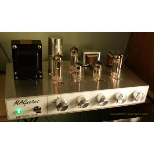 "Customer image:<br/>""MAGnetics Audio Amplifier"""