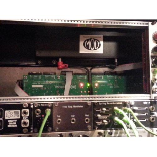 "Customer image:<br/>""MOD tank installed in my Eurorack system."""