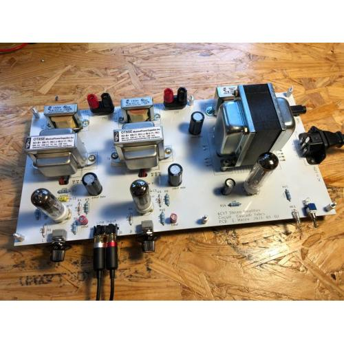 """Customer image:<br/>""""Working out well in my 6C67 SET HiFi amp"""""""