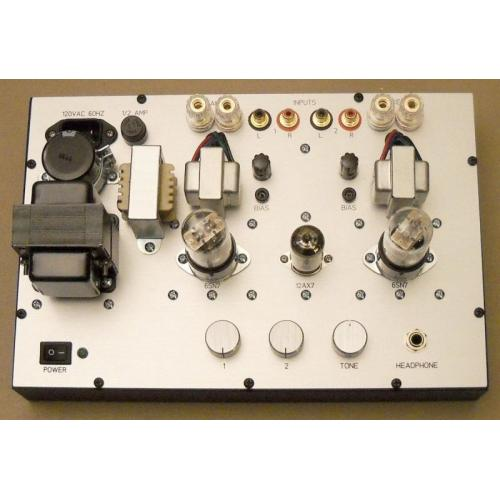 "Customer image:<br/>""Headphone Amplifier Using 6SN7 output"""
