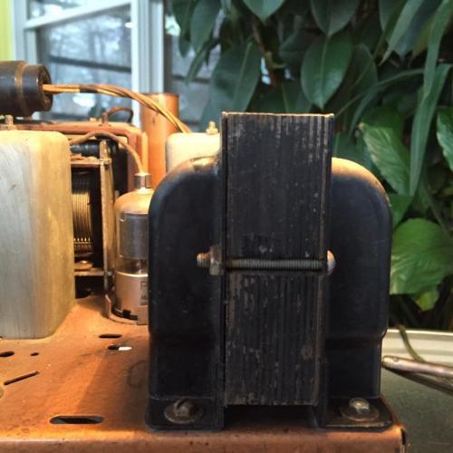 """Customer image:<br/>""""Transformer for Zenith 9 tube Superheterodyne  Model 262"""""""