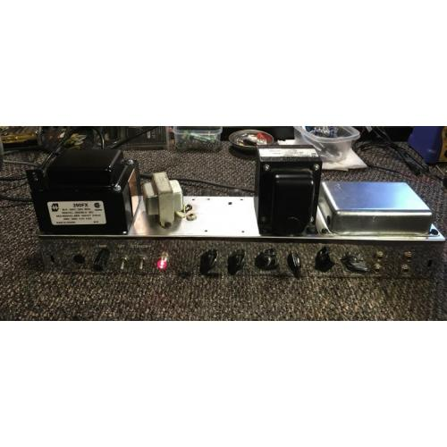 "Customer image:<br/>""My ""low power"" High Power Tweed Twin with 4x 6V6 output tubes."""