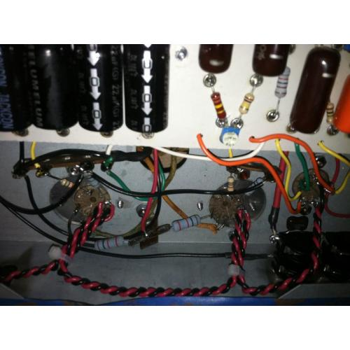 "Customer image:<br/>""Dumble #183 clone by Vogel Instrument Company"""
