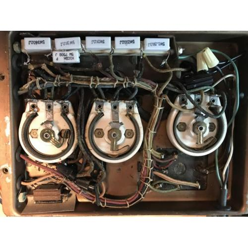 "Customer image:<br/>""5 watt wire wound resistors used in the restoration of the power supply portion of an antique radio. """