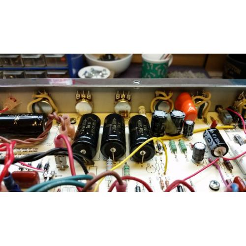 "Customer image:<br/>""Tweed Reverb Pot Wiring"""
