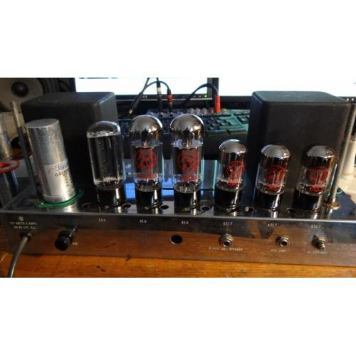 """Customer image:<br/>""""The quad 40µf in it&amp;#039;s new home, Ampeg B15N 1961"""""""