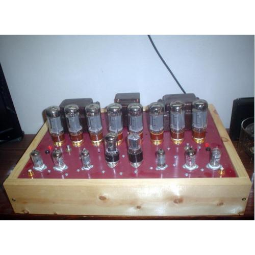 """Customer image:<br/>""""8-6L6 Stereo Amplifier"""""""
