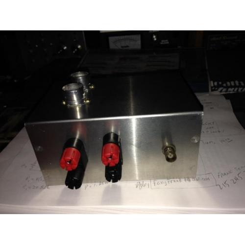 "Customer image:<br/>""rear panel of vacuum tube VFO"""